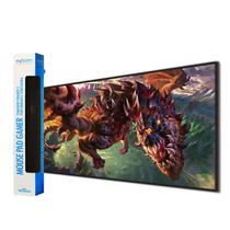 Mouse Pad Gamer Dragão League Of Legends - Extra Grande 70x35 Cm 3mm - Exbom -