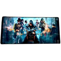 Mouse Pad Gamer Extra Grande 900x400x3mm Assassins Creed A10 - Exbom