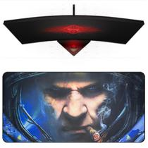 Mouse Pad Gamer Extra Grande Barato 90x40cm Speed Estampa Astronauta Mousepad Exbom MP-9040A08