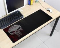 Mouse Pad Gamer Grande 70x35cm Antiderrapante Bordas Costuradas Estampa Caveira  Exbom MP-7035C