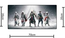 Mouse Pad Gamer Grande (Teclado e mouse) Assassins Creed 2 - Mc rio branco