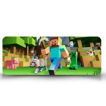 Mouse Pad Gamer Minecraft Cachorro - Império Da Impressão