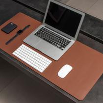 Mouse Pad Gigante Desk Pad BULLPAD CARAMELO 90x40cm em Sintético -