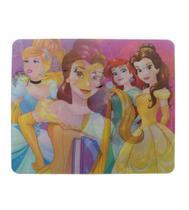 Mouse pad lenticular princesas da disney - etipel -