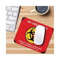 Mouse Pad - Quarentena Zumbi - Game - Fabrica geek