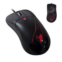 Mouse Para Jogo Com Fio Iluminação 5000dpi 6 Botões Usb - Hawkon
