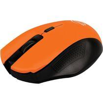 Mouse sem Fio Citrus Laranja MO203 Newlink -