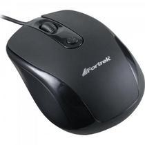 Mouse USB 1600dpi OM-103BK Preto FORTREK -