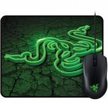 Mouse USB Abyssus e Mouse Pad Goliathus Control Razer RZ83-002020200-B3M1 -