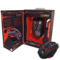 Mouse Usb Gamer 3200 Dpi 7 Botoes 7 Cores M907 Marvo