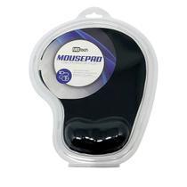 MousePad Com Descanso De Pulso E Base Antiderrapante - Preto - MBTECH