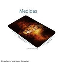 Mousepad Extra Grande com Base antiderrapante e lateral costuradas - Exbom