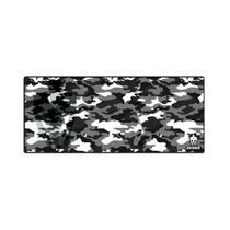Mousepad Gamer (70x30cm) - Camuflado Cinzento - Evolut