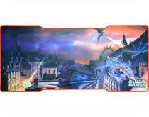 Mousepad Gamer Dragon Fx-x8235 C/ Base Emborrachada K-mex -