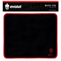 Mousepad Gamer Evolut Base Emborrachada Borda Costurada Pequeno 25 x 21 cm Speed - EG-401 BK -