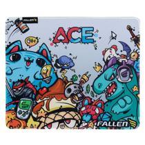Mousepad gamer fallen ace - control médio -