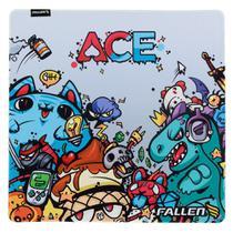Mousepad gamer fallen ace - speed+ grande -