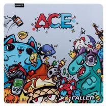 Mousepad gamer fallen ace - speed++ grande -
