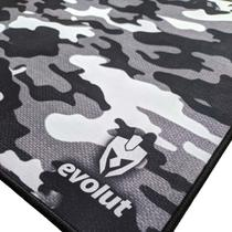 MousePad Gamer Grande Camuflado Bordado EG-402 Evolut -