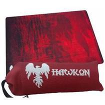 Mousepad Gamer Grande Hawkon Pange Vermilion Com Bag -