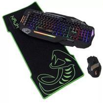 Mousepad gamer naja tamanho media borracha natural - Mitsushiba