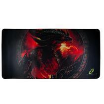MousePad Gamer X-Cell Extra Grande 70x35 XC-MPD-04 Dragão -
