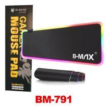 Mousepad Para Jogo Gamer Extra Grande 80 x 30 cm com LED RGB B-MAX -