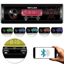 MP3 Player Automotivo Bluetooth 2 USB Touch Carrega Celular Ipod iPhone Android Shutt Rio de Janeiro -