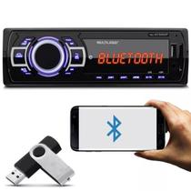 Mp3 Player Automotivo Bluetooth P3319 Usb Aux + 1 Pen Drive 8GB - Multilaser