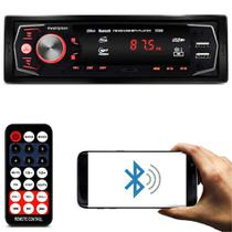 MP3 Player Automotivo M-5588 1 Din Bluetooth USB SD Auxiliar - First Option