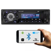 MP3 Player Automotivo Multilaser Talk P3214 Bluetooth 1 Din USB SD AUX MP3 WMA FM 4x45 WRMS