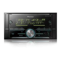 MP3 Player Automotivo Pioneer MVH-S618BT 2Din Bluetooth USB AUX RCA AM FM WMA Interface Android Iphone