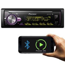 MP3 Player Automotivo Pioneer MVH-X30BR 1 Din USB AUX RCA MP3 AM FM WMA Bluetooth Smartphone Mixtrax