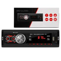 MP3 Player Automotivo Shutt Montana 1 Din 3.5 Polegadas USB SD Aux P2 FM 1788
