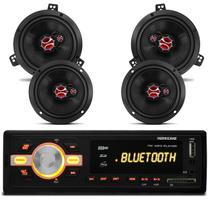 MP3 Player Hurricane HR420 Bluetooth + Kit Falante Classic 03 a 13 Wagon 94 a 02 200 Rms 6 Polegadas - Prime