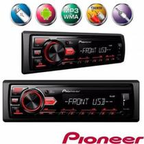 Mp3 Player Mvh-98UB Pioneer Usb Aux Rádio -