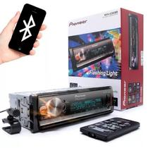 MP3 Player MVH-X300BR Pioneer Mixtrax - Bluetooth + Controle + USB