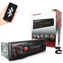 MP3 Player Pioneer MVH-298BT Bluetooth USB Auxiliar Frontal