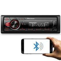 MP3 Player Pioneer MVH-S218BT Receiver 1 Din Bluetooth USB Interface Smartphone Android Digital