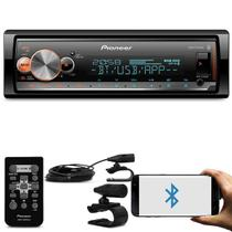 MP3 Player Pioneer MVH-X300BR 1 Din LCD Bluetooth Interface Android iOS Spotify Mixtrax USB Receiver