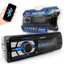 MP3 Player Pósitron SP-2310BT Bluetooth Entrada USB , Micro SD e Aux Frontal - Positron