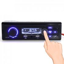 Mp3 som rádio carro bluetooth usb aux touchscreen controle - First option