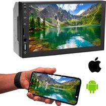 Mp5 Central 2 Din Tela Touch Screen Com Espelhamento Android Ios - Pbl Car