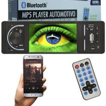 Mp5 Vídeo Player Automotivo 1 Din Tela 4.0 Exbom MPCC-D40A Som Mp3 Rádio Fm Usb Sd Aux Bluetooth