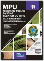 Mpu ministerio publico da uniao tecnico do mpu - a - Diversas
