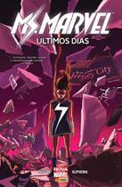 Ms. Marvel - Últimos dias - Capa cartão - Marvel -