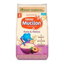 Mucilon Aveia e Ameixa Cereal Infantil Edição Limitada Sachê 180g -