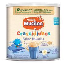 Mucilon Crescidinhos Cereal Infantil Baunilha Lata 250g -