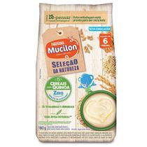 Mucilon Seleção da Natureza 5 Cereais c/Quinoa Cereal 180g -