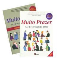 Muito prazer - fale o portugues do brasil  - vol unico - pack livro do aluno + livro de exercicios - Disal